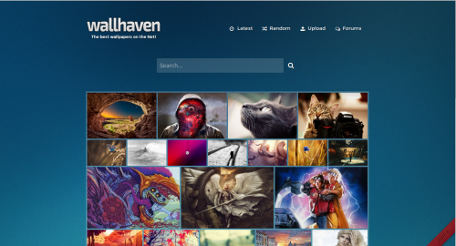 Homepage Wallhaven