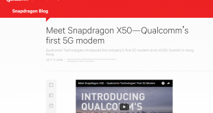 snapdragon x50 by qualcomm