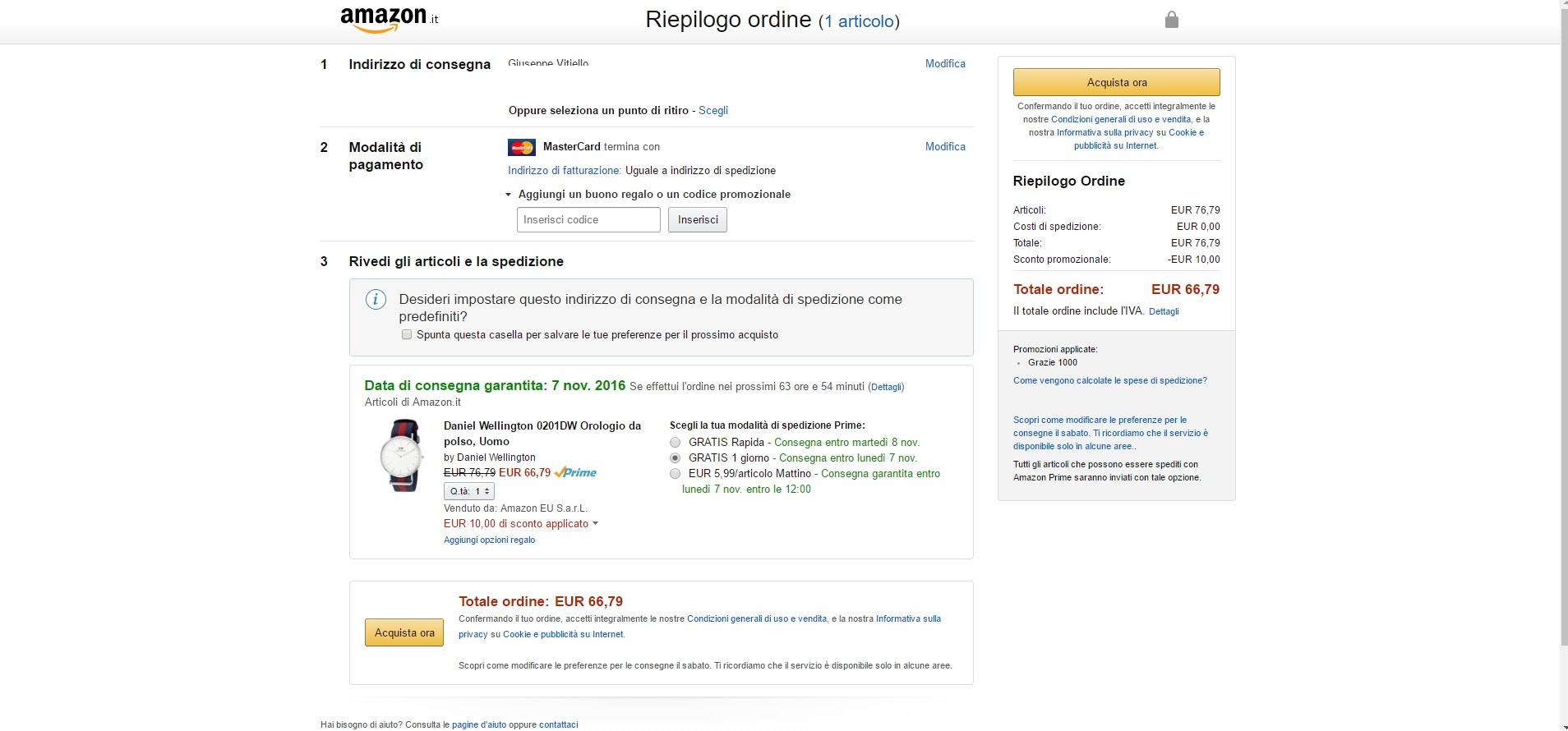 Amazon buoni acquisto for Buoni omaggio amazon